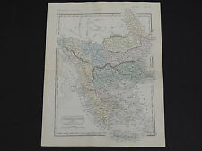 Antique Maps, Samuel Butler c.1863 #06 Turkey in Europe and Greece