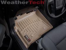 WeatherTech® Floor Mat FloorLiner - Ford F-150 - 2010-2014 - 1st Row - Tan