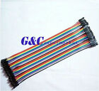 40PCS Dupont Wire Color Connector Cable 2.54mm  1P-1P For Arduino GOOD QUALITY