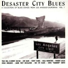 DESASTER CITY BLUES-VOL.1 - DOUG MACLEOD, ROBERT LUCAS, TERRY EVANS - CD NEU