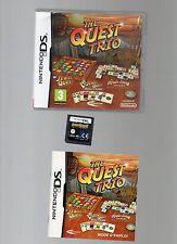 THE QUEST TRIO !!! 3 Jeux Mythiques sur DS/DSi/3DS Quasi NEUF