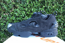 REEBOK INSTAPUMP FURY OG HALLOWEEN SZ 9 BLACK SILVER METALLIC DENIM AR1716