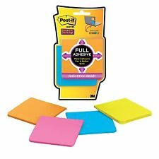 Post-it Super Sticky Full Adhesive Notes 3 in x 3 in Rio de Janeiro Collectio...