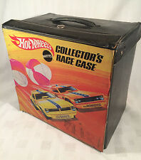 Vintage 1970 Hot Wheels 72 Car Collector's Race Carry Case w/ 54 Cars - RARE -