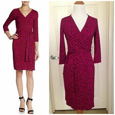 "NWT $398 Diane Von Furstenberg DVF ""New Julian Two"" Wrap Dress 0"