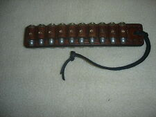 SASS leather 45 long colt reload strap 20 loop (20 days to get it done)