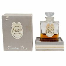 Vintage Christian Dior Miss Dior Perfume Boxed 40% Full Glass Bottle 1 Oz Paris