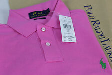 Ralph Lauren custom fit mercerised polo Wine (Pink) - XL man - RRP £85