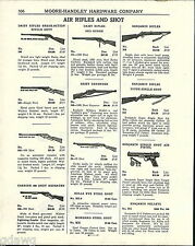 1943 ADVERT Daisy Defender Red Ryder Carbine Benjamin Air Rifle BB Gun Pump