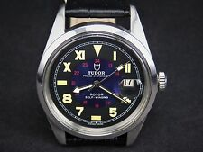 38MM VINTAGE TUDOR PRINCE OYSTERDATE 2772 25JEWELS SS SWISS AUTOMATIC MENS WATCH