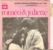 "NINO ROTA ""ROMEO & JULIETTE"" B.O. FILM 60'S SP CAPITOL 515"