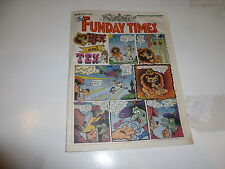 THE FUNDAY TIMES - No 30 - Date 01/04/1990 - Free Sunday Times Comic Supplement