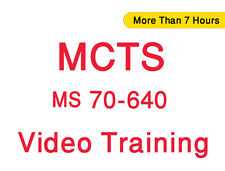 MCTS 70-640: MS Windows Server 2008 Active Directory, Config Video Training CBT