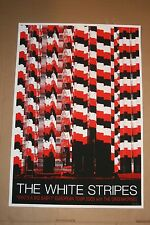 The White Stripes Rob Jones Poster Print Jack White European FREE SHIPPING IN US