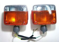 Pair Fender Front Turn Signal Light for Toyota Landcruiser FJ40 FJ45 HJ45 Pickup