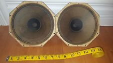 Vintage audiophile Philips full range speakers Alnico AD2800 M 1963 Whizzer