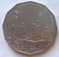 Australia 50 Cents 2005 coin - World War 1939 - 1945 Remembrance