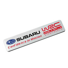 WRC Rally Trunk Rear Car sticker Fender emblem badge for Subaru Impreza WRX STI