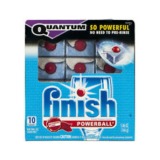 Finish Quantum Ultimate Clean Powerball Gel Dishwasher Detergent 10 Ct