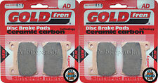 YAMAHA VX 1000 VIRAGO (1986-ONWARDS) SINTERED FRONT BRAKE PADS (2xSETS) GOLDFREN