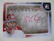 2011-12 ITG Forever Rivals A-PR Roy Patrick  SP autograph auto SSP canadiens