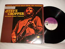 STEVE CROPPER WITH A LITTLE HELP FROM MY FRIENDS STAX RECORDS GERMAN IMPORT