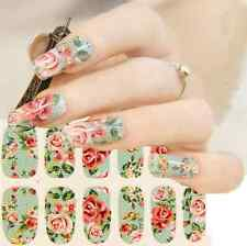 1x Saika Nail Art Sticker Adhesive Stickers Decals Tips Decoration Full Wrap