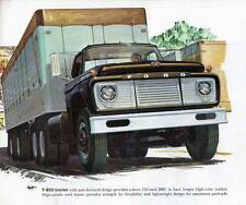 Old Print. 1961 Ford T-850 Tractor-Trailer Advertisement
