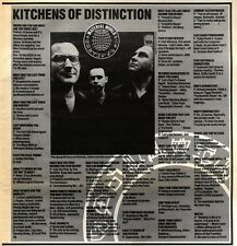 1/8/92PGN09 KITCHENS OF DISTINCTION MATERIAL WORLD ARTICLE & PICTURE
