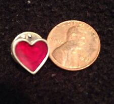Heart Pin Red Hat Shirt Necktie Pin