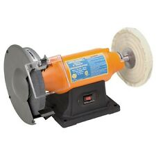 "NEW! 8"" Wheel Buffing Bench Top Buffer & Grinder 3/4 HP polishing and grinding"