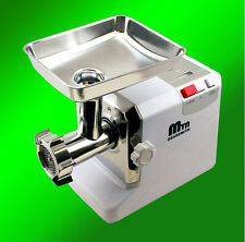 New MTN Electric Meat Grinder Sausage Stuffer 3.4 HP Free Tubes 3000W