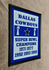 Dallas Cowboys Framed 11x14 Photo NFL Super Bowl Champs