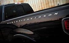 2 Ford F-150 Chev, Dodge Toyota Harley Davidson Truck Bed Letter Emblem CHROME
