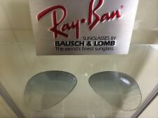 Vintage Ray Ban Bausch And Lomb Gray Gradient Fantasees 58mm replacement Lenses