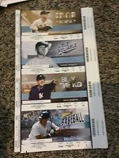 2015 YANKEES VS RANGERS SUITE TICKET STUB BERNIE WILLIAMS DAY 5/24 DON MATTINGLY
