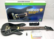 NEW Microsoft XBox-1 One Guitar Hero LIVE Wireless Controller + Dongle NO-GAME