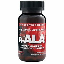 AST Sports Science R-Ala 200 mg 90 Capsules (R-ALA-200 90 caps)