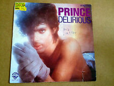 PRINCE R. NELSON • Delirious / Horny Toad • GER 7 Inch single • p/s • stickers!!
