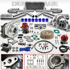 T04E CT25 12PC TURBO KIT W/INTERCOOLER+WASTEGATE+MANIFOLD 86-93 CELICA 3S-GTE