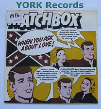"""MATCHBOX - When You Ask About Love - Excellent Con 7"""" Single Magnet MAG 191"""
