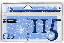 EUROPE  TELECARTE / PHONECARD ..  PAYS BAS 115U L&G 252A PTT TELECOM MINT/NEUVE