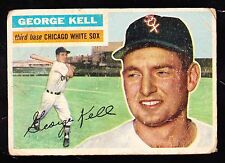 1956 TOPPS #195 GEORGE KELL WHITE SOX