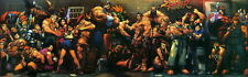 "ken 001 Street Fighter - Fight Ryu Guile Ken ChunLi Game 45""x14"" Poster"