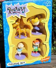 RARE 1997 Applause Nickelodeon Rugrats 4 Pack Spike Angelica Tommy Chuc  PVC MIB
