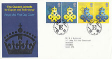 10 APRIL 1990 QUEENS AWARDS ROYAL MAIL FIRST DAY COVER BUREAU SHS (d)