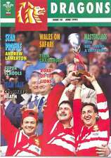 DRAGONS No 10 Jun 1993 RUGBY MAG NEIL JENKINS EMYR LEWIS ROBERT NORSTER NEATH