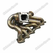 CXRacing Turbo Manifold For 2JZGTE 2JZ-GTE T4 IS300 GS300 Supra Top Mount Single