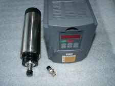 AIR-COOLED 1.5KW ER11 CNC SPINDLE MOTOR+INVERTER VFD+65MM MOUNT BRACKET CLAMP