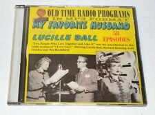 "Old time radio shows-in MP3 format-""My favorite Husband"" 58 Episodes-Lucille Bal"